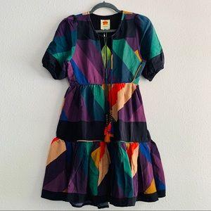 Farm Rio EUC Tassel Mini Dress Size S